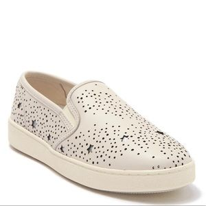 Coach Leather Slip Ons